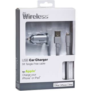Фото - JUST WIRELESS Lightning Car Charger Grey