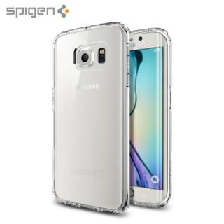 Фото - SPIGEN Air Cushioned Corners / Dual Layer Protective Case for Galaxy S6 Edge Shimmery White