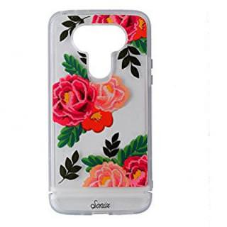 Фото - SONIX Clear Coat Case Lg G5 Clear/ Red Flowers US