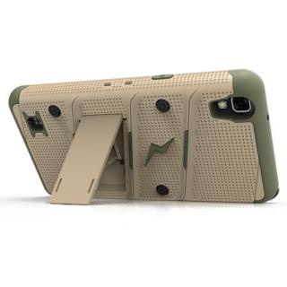 Фото - LG X POWER Two-piece Kickstand Shield With Screen Protector Desert Rose/Grey