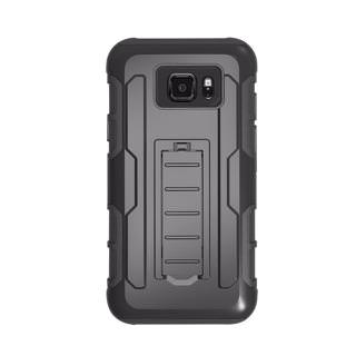Фото - Samsung Galaxy Note 4 N910 Hard Cover and Silicone Protective Case Hybrid Robot Black Stand Holster