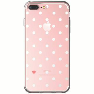 Фото - ONN Clear Case With White Dots Iphone 7