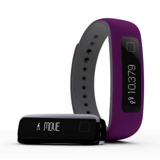 iFit Vue Fitness Tracker Purple/Grey