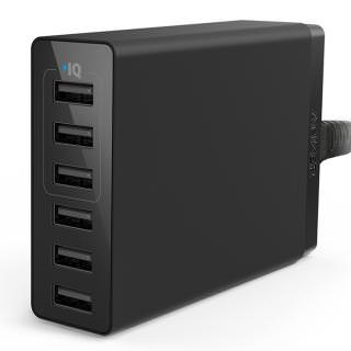 Фото - ANKER 6-Port Wall Charger (BULK)