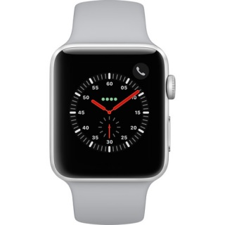Фото - Apple Watch Series 3 GPS + Cellular 42mm Silver Aluminum w. Fog Sport B. (MQK12)