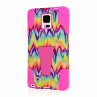 Фото - Impact X Kickstand Case for Alcatel Pop Pink Tie Dye