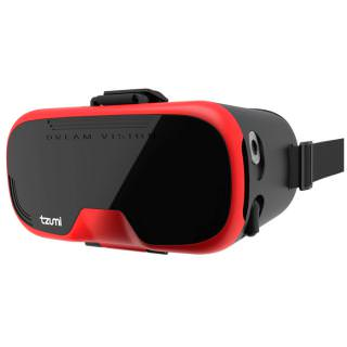 Фото - Tzumi DreamVision Virtual Reality Smartphone Headset Red (BULK)