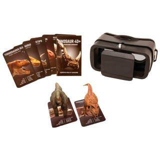Фото - VR ENTERTAINMENT Headset and 4D Dinosaur AR Cards