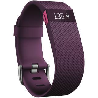 Фото - Fitbit Charge HR (Large/Plum)