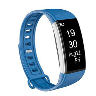 Juboury S2 Fitness Tracker HR Monitor Blue
