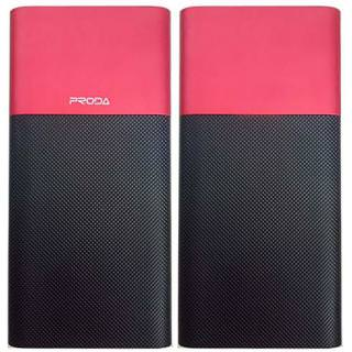 PRODA Power Bank 10000mAh Biaphone PPP-28 Red