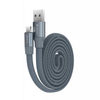 Фото - DEVIA Ring Y1 Micro USB 2.4A Grey