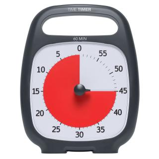 Фото - Time Timer Plus ( 60 Minutes ) Charcoal grey (Open Box)