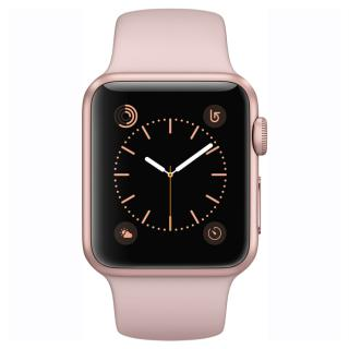 Фото - Apple Watch Series 1 38mm Rose Gold Aluminum Case with Pink Sand Sport Band (MNNH2) D