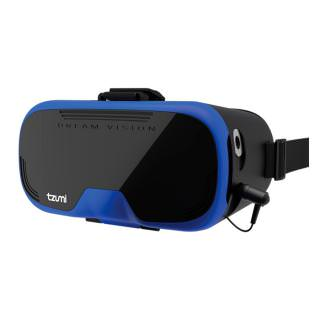 Tzumi DreamVision Virtual Reality Smartphone Headset Blue (BULK) C