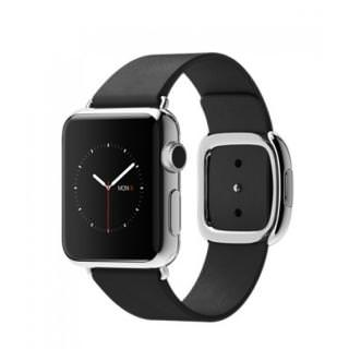 Фото - Apple Watch 38mm Stailnless Steel Case with Black Modern Buckle (MJYL2) (US)