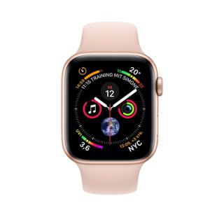 Фото - Apple Watch Series 4 LTE Pink Sand Sport Band 40mm Gold Aluminum (MTVG2) (US)