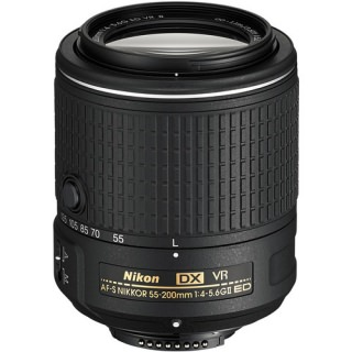 Фото - Nikon AF-S DX NIKKOR 55-200mm f/4-5.6G ED VR II (Refurbished)