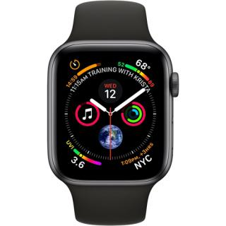 Фото - Apple Watch Series 4 Black Sport Band 40mm Space Gray Aluminium (MU662)