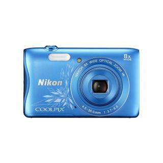 Nikon Coolpix S3700 Blue (Open Box)