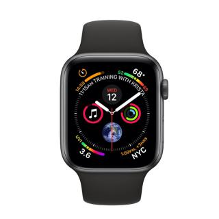 Фото - Apple Watch Series 4 GPS + LTE 40mm Gray Aluminium/Black Sport band (MTUG2, MTVD2)