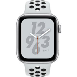 Фото - Apple Watch Series 4 Nike+ Black Band 40mm Silver Aluminum (MU6H2)