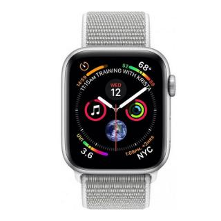 Фото - Apple Watch Series 4 GPS + LTE 40mm Silver Alum. w. Seashell Sport l. Silver Alum. (MTUF2)