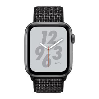Фото - Apple Watch Nike+ Series 4 GPS 40mm grey Alum. w. Black Nike Sport l. grey Alum. (MU7G2)