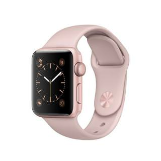 Фото - Apple Watch Series 2 38mm Rose Gold Aluminum Case with Pink Sand Sport Band (MNNY2)