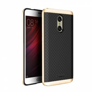 Фото - iPaky Carbon TPU + Bumper Case for Xiaomi Mi8 Gold