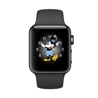 Фото - Apple Watch Series 2 38mm Space Black Stainless Steel Case with Black Sport Band (MP492)