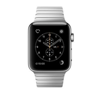 Фото - Apple Watch Series 2 42mm Stainless Steel Case with Stainless Steel Link Bracelet Band (MNPT2)