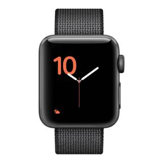 Фото - Apple Watch Series 3 GPS + Cellular 38mm Space grey Aluminum w. Dark Olive Sport L. (MQJT2)