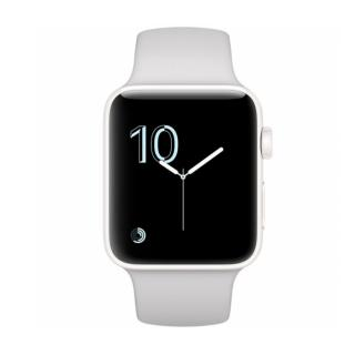 Фото - Apple Watch Series 3 GPS + Cellular 38mm Silver Aluminum w. Fog Sport B. (MQJN2)