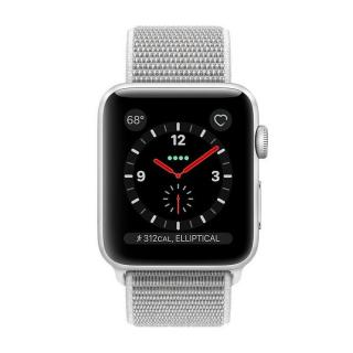 Фото - Apple Watch Series 3 GPS + Cellular 42mm Silver Aluminum w. Seashell Sport L. (MQK52)