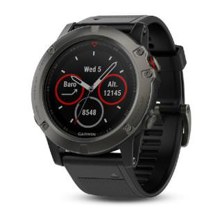 Фото - Garmin fenix 5X Slate Gray Sapphire with Black Band (010-01733-03)