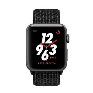 Фото - Apple Watch Nike+ Series 3 GPS + Cellular 42mm Space Gray Aluminum w. Black/Pure PlatinumSport (MQLF2)