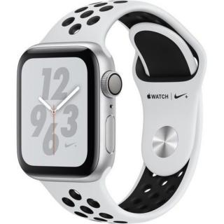 Фото - APPLE Watch Series 4 Nike MU6H2 Black Band 40mm Silver Aluminium