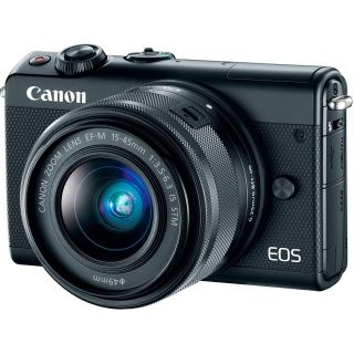 Фото - Canon EOS M100 kit (15-45mm) IS STM Black
