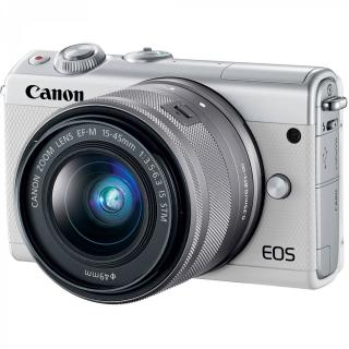Фото - Canon EOS M100 kit (15-45mm) IS STM White