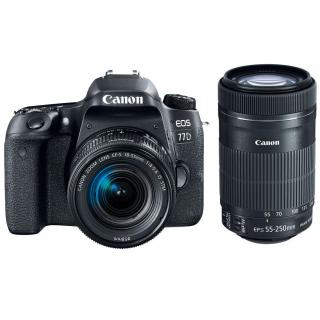 Фото - Canon EOS 77D kit (18-55mm + 55-250mm) EF-S IS STM