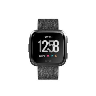 Фото - Fitbit Versa Special Edition, Charcoal Woven (FB505BKGY)