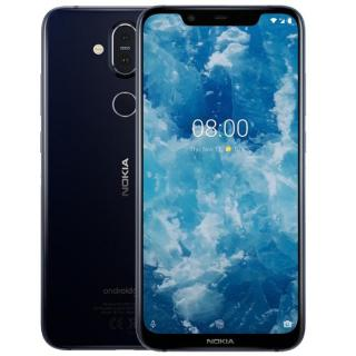 Фото - Nokia 8.1 6/128GB Blue/Silver