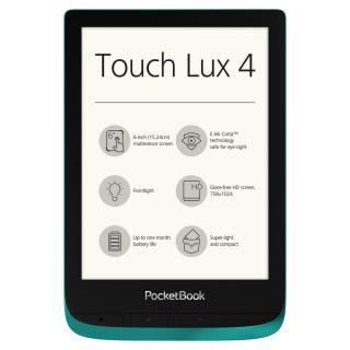 Фото - Pocketbook 627 Touch Lux 4 Emerald Green (PB627-H-CIS)