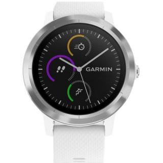Фото - Garmin Vivoactive 3 White with Stainless Hardware (010-01769-22)