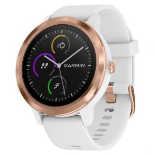 Фото - Garmin Vivoactive 3 White with Rose Gold Hardware White (010-01769-07)