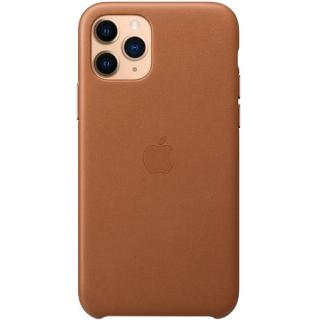 Фото - Apple iPhone 11 Pro Leather Case - Saddle Brown (MWYD2ZM/A)