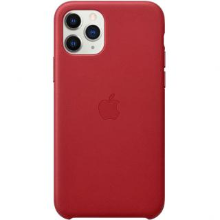 Фото - Apple iPhone 11 Pro Leather Case - Red (MWYF2)