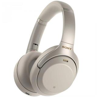 Фото - Sony Noise Cancelling Headphones Silver (WH-1000XM3G)