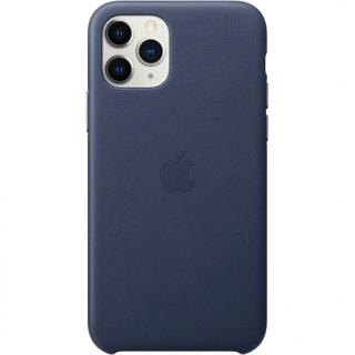 Фото - Apple iPhone 11 Pro Leather Case - Midnight Blue (MWYG2)